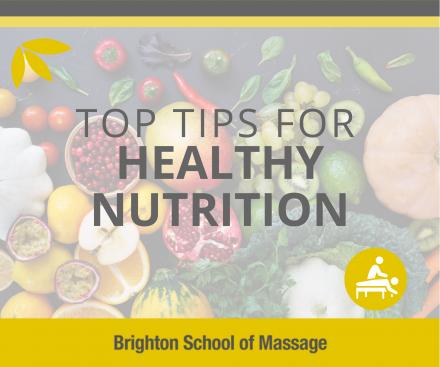 nutrtion top tips